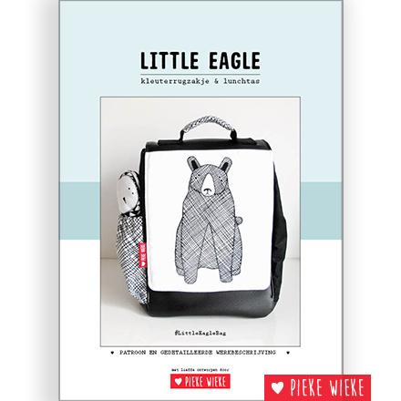 Pieke Wieke Little Eagle tasje digitaal patroon ❤ Pieke Wieke