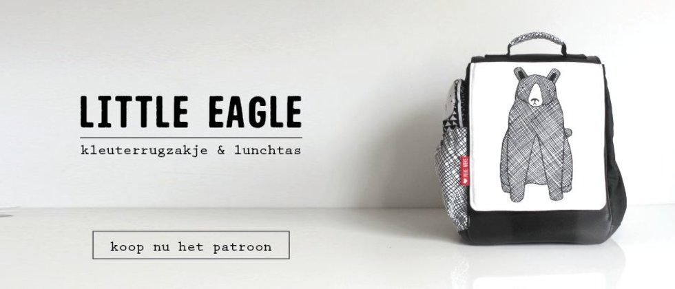 Little Eagle digitaal patroon