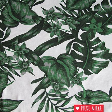 Tricot Botanical met wit