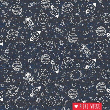 Poppy Tricot Space Blauw
