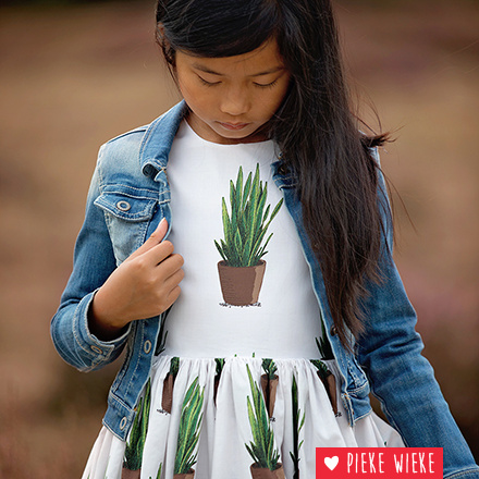 See You At Six Cotton Lawn Sansevieria
