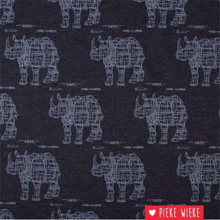 lillestoff Jeans tricot Rhinosaur