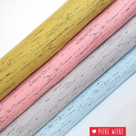 Poppy Tricot gemêleerd stripe taupe