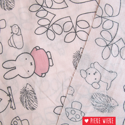 Coton Miffy soft pink