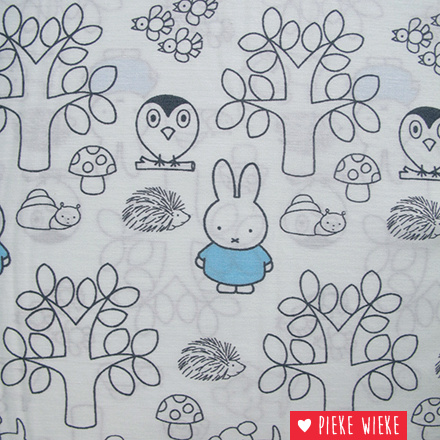 Coton Miffy soft blue