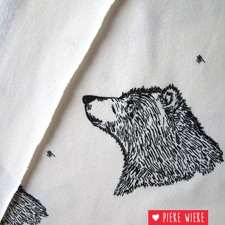 Bloome CPH Tricot Curious Bear wit