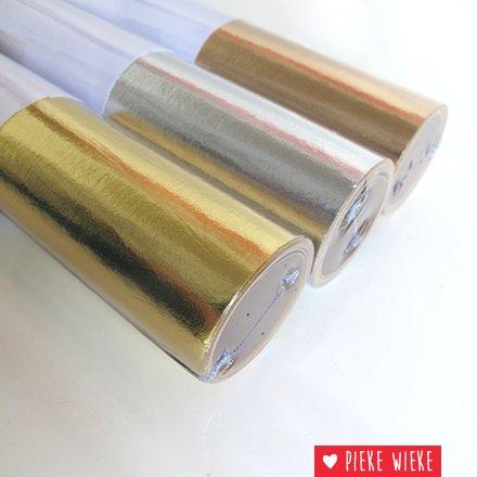 Wasbaar papier goud