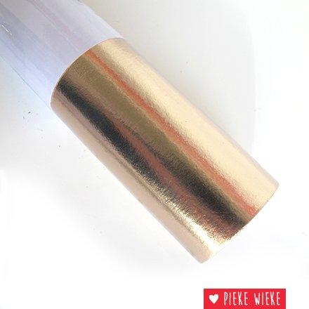 Wasbaar papier rosé goud