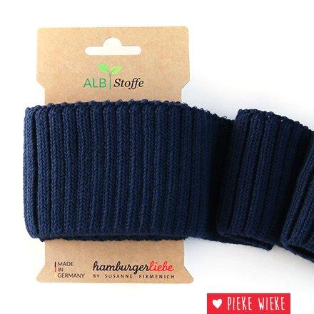 Albstoff Cuff Me Cozy sleeve collar Navy blue