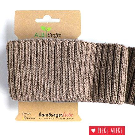 Albstoff Cuff Me Cozy sleeve collar Sand brown