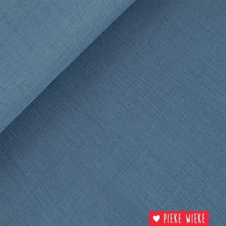 Viscose linnen Blauw