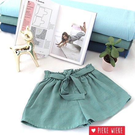 Viscose linen Summer skirt