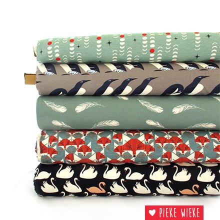 Birch Fabrics Organic knit Murre