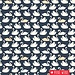 Birch Fabrics Biologische tricot Swan Lake
