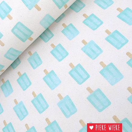 About blue fabrics French Terry Paper pigeon Ice blue