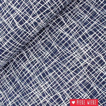 Tricot Scaffolding blauw