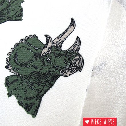 Bloome CPH French terry Triceratops Off white