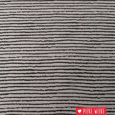 Jersey Blurry stripe Grey