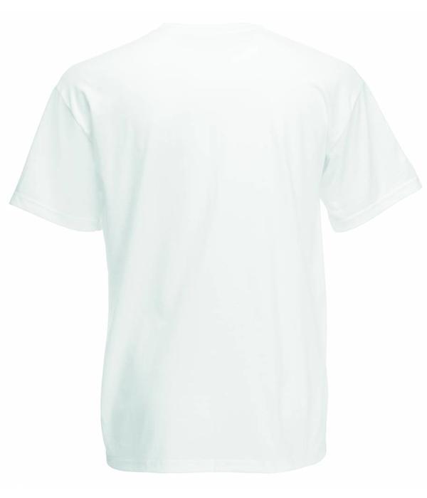 Fruit of the Loom 24 stuks witte ronde hals T-shirts