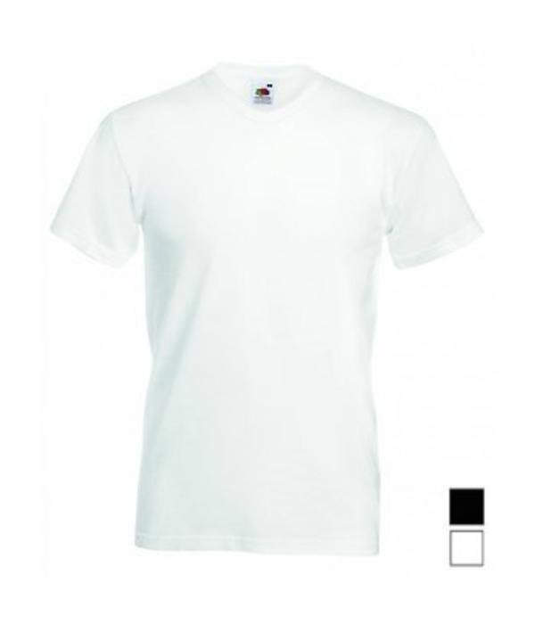 Fruit of the Loom 24 stuks witte V-hals T-shirts