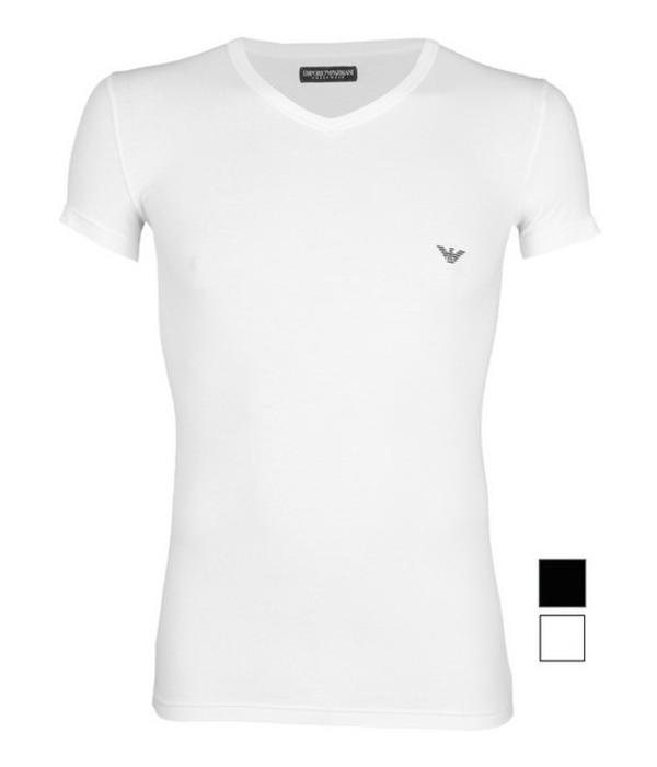 Emporio Armani wit T-shirt V-hals