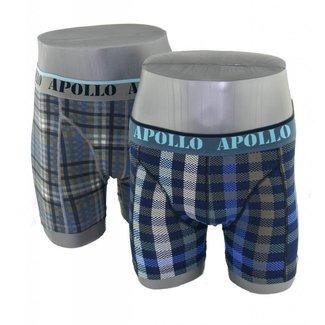 Apollo Underwear 2-pack bruin & blauw