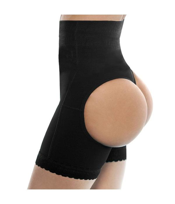 Butt lifter short - zwart