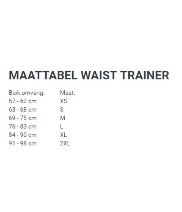 Latex waist trainer corset - paars luipaard