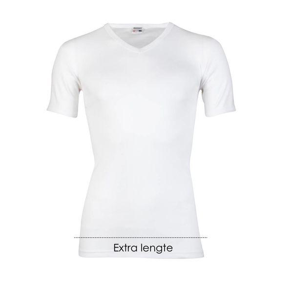 T-shirt V-hals extra lang