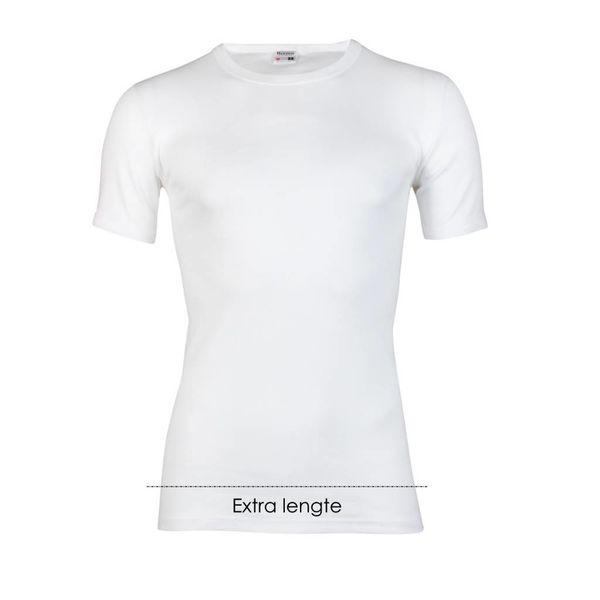 T-shirt ronde hals extra lang