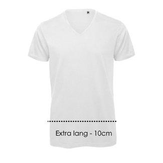 Logostar V-hals T-shirt XXXtra lang