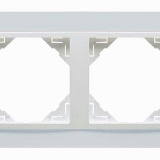 Efapel Animato afdekr. 2 voudig ice/ice