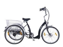 popal Volwassen electrische driewieler LUXE zwart