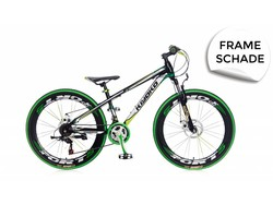 popal 24 inch mountainbike kiyoko groen