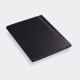 Klapr Luxe elastomap A4 10 mm zwart