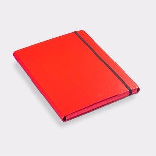 Klapr Luxe elastomap A4 10 mm rood