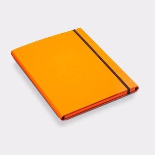 Klapr Luxe elastomap A4 10 mm oranje