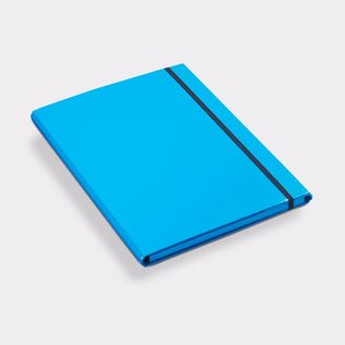 Klapr Elastic Folder A4 10mm Blue