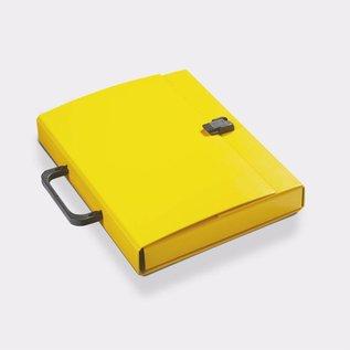 Klapr Koffer A4 30 mm geel