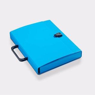 Klapr Briefcase A4 30 mm Blue