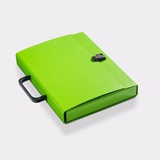 Klapr Koffer A4 30 mm groen
