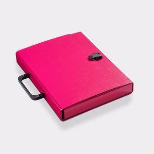Klapr Koffer A4 30 mm magenta