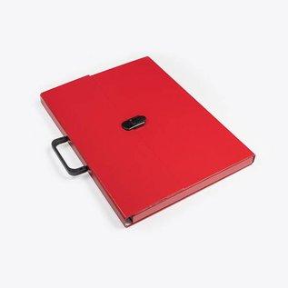 Klapr Briefcase A3 Red - 30 mm