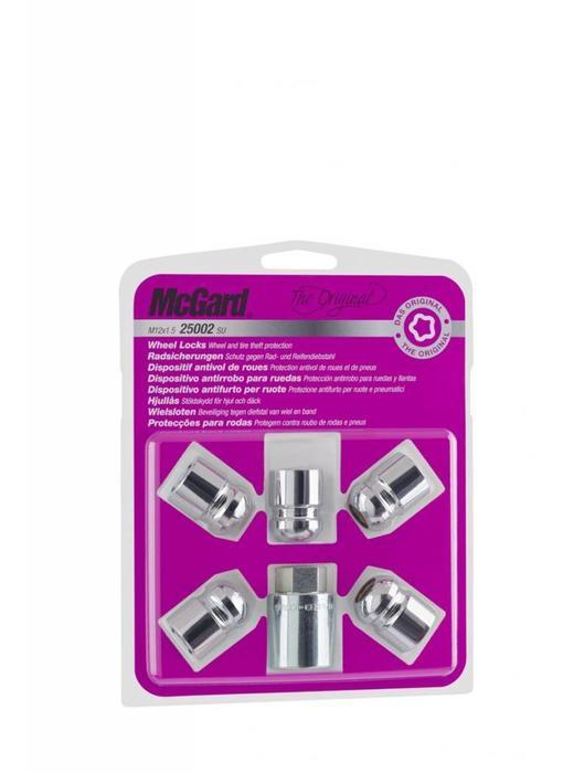 Slotmoeren Bolconisch 5-Lock Set 12x1,5 - 29.9 mm - K19