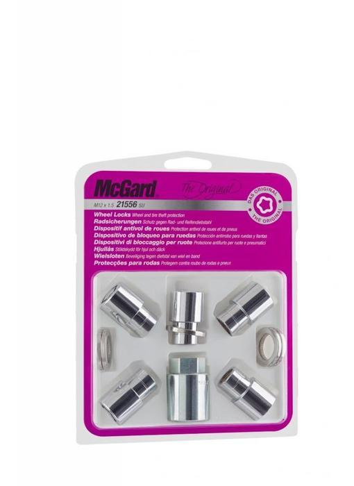 Slotmoeren Vlak 5 Lock Set 12x1,5- 15/35 mm - K21