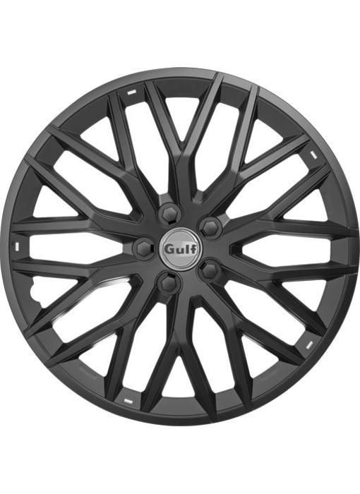 Set 4 stuks wieldoppen 14 inch GT40 Zwart