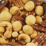 Macadamia Notenmelange, Gebrand (250 gram)
