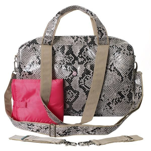Mommy Bag Python Naturel