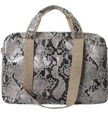 Mommy Bag Python Naturel