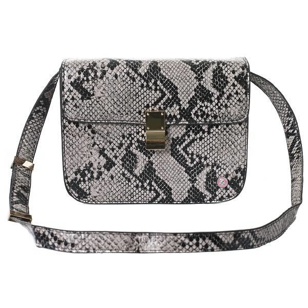 Belle Bag Python Naturel
